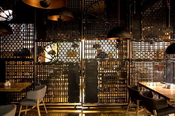 Forged Lattice In The Restaurant Corassini, Ivano Frankivsk Elements  Interior ...